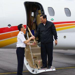 Luhut Uji Coba Bandara Internasional di Siborong-borong
