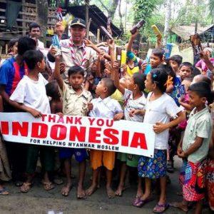Aceh Base Camp Bantuan ke Pengungsi Rohingya
