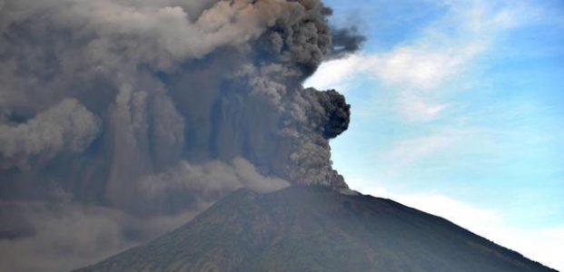 Status Gunung Agung Naik Menjadi Awas