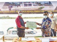 Pelayanan Kesehatan Daerah Terpencil di Kayong Utara Tak Ada Hambatan Kontribusi AGP-PAS Bagi Pemkab, Bantu Speedboat Ambulance