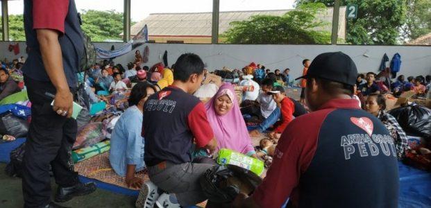 Bantuan AGP Jamah Titik Terpencil Terdampak Tsunami