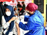 Serbuan Vaksinasi,Antusiasme Ribuan Warga Ambon Dihari Kedua