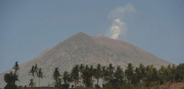 PVMBG: Aktivitas Gempa Gunung Agung Menurun