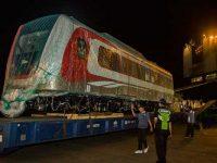 Kereta LRT Sudah Tiba di Jakarta