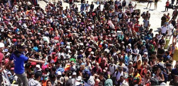 4.636 Orang Dievakuasi dari 3 Gili di Lombok