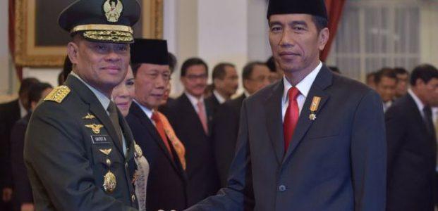Presiden Minta Panglima TNI Jenderal Gatot Tidak ke AS
