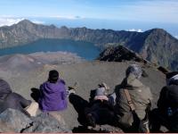 Pasca Gempa Bumi  Lombok, Ratusan Pendaki Rinjani Dievakuasi