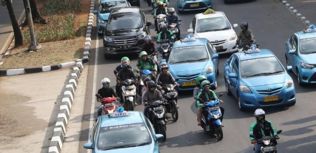 Alasan Motor Dilarang Melintasi Jalan Sudirman