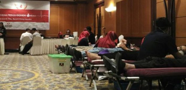 Donor Darah di Hotel Borobudur Jakarta