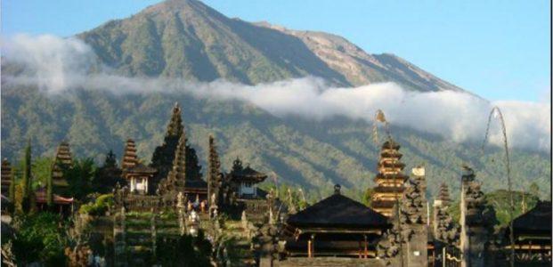 Aktivitas vulkanik gunung Agung masih tinggi
