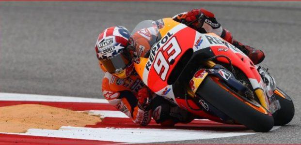 Marc Marquez Raih Podium MotoGP Aragon 2017