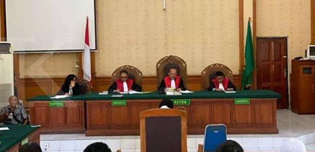 Hakim Tolak Semua Eksepsi Pemilik Hotel Kuta Paradiso