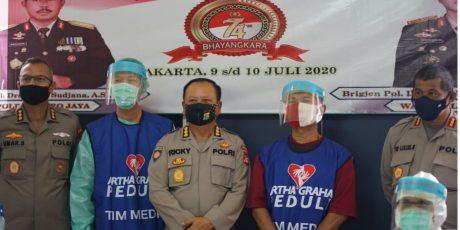 AGP-Polda Metro Jaya Gelar Rapid Test Ratusan Tahanan