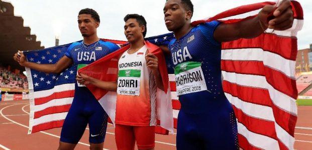Menko PMK Apresiasi Prestasi Zohri di Kejuaraan Dunia Atletik