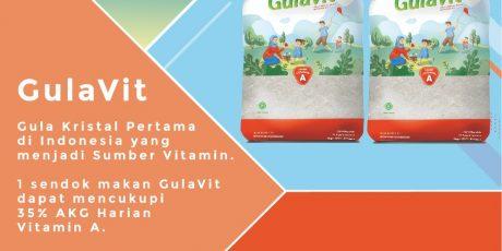 Gula Kristal Pertama Dengan Kandungan Vitamin A