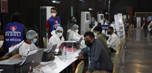 Silahkan Daftar On Line, Warga KTP Non DKI Bisa Vaksin Di SCBD