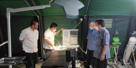 Adaro Serahkan 100 Oksigen Konsentrator di Rumkitlap AGP