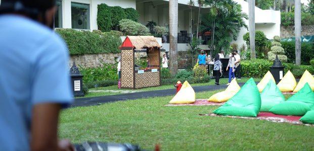 Borobudur Garden Tempat Piknik Mewah Hadir Di Pusat Kota