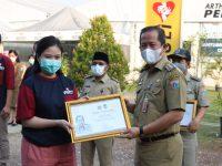 Wali Kota Jakarta Utara Apresiasi kepada Tomy Winata dan Rumkitlap AGP