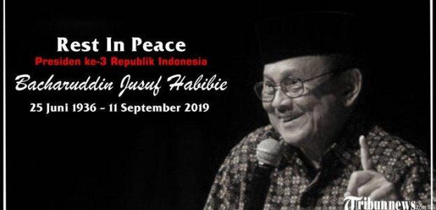 Tagar RIP Bapak Teknologi Indonesia Puncaki Lini Masa