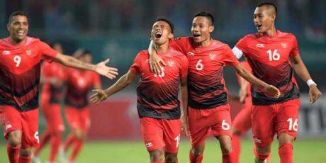 Klasemen Akhir Cabang Sepak Bola Putra Asian Games 2018