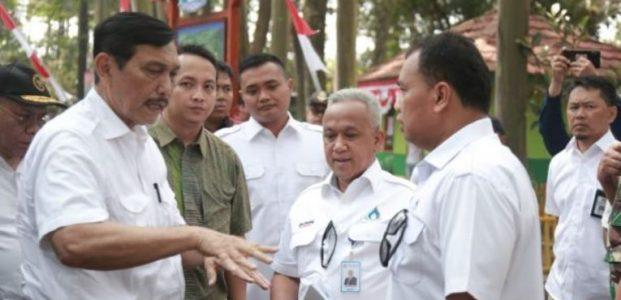 Menteri koordinator Bidang Kemaritiman, Tinjau Program Citarum