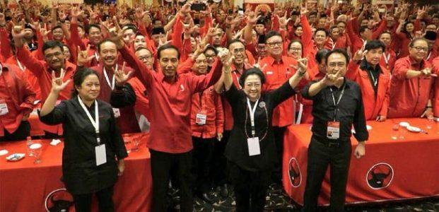 Keputusan Rakernas PDIP di Bali Usung Jokowi di Pilpres 2019