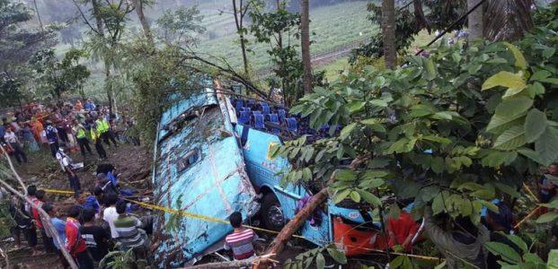 Korban Tewas Kecelakaan Bus Rosalia Indah di Purbalingga Jadi 4 Orang