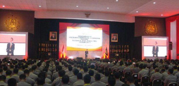 Jokowi: Polisi Harus Siap Antisipasi Kejahatan Siber