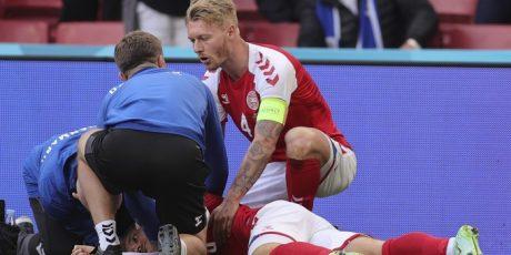 Christian Eriksen Kolaps Di Laga Denmark vs Finlandia