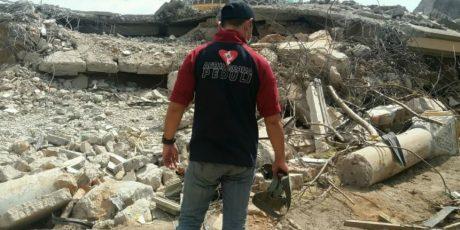 AGP Evakuasi Korban Gempa di Masjid