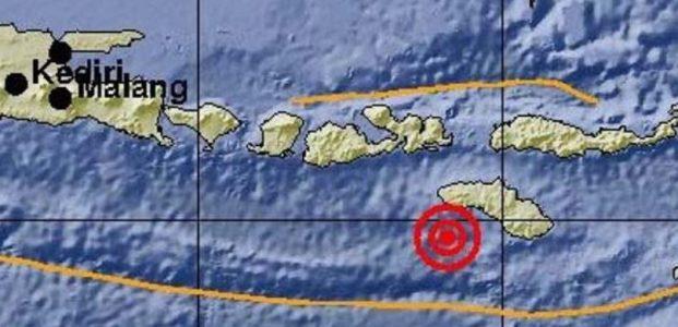 Gempa M 6,7 Mengguncang Sumba Barat