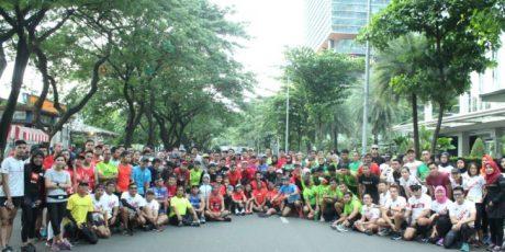 Sambil Lari Rayakan Ulang Tahun ke-9 Indorunners