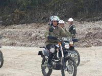 Jokowi Ngetrail Susuri Pegunungan Trikora Wamena