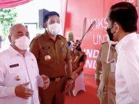 Presiden Jokowi Tinjau Vaksinasi Dan Resmikan Tol Di Kaltim