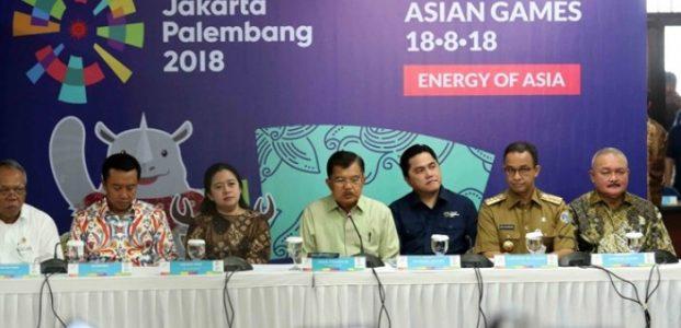 45 Negara dan 15 Ribu Atlet Ikut Asian Games Dipastikan Aman