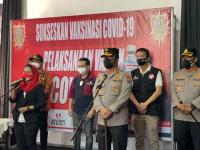 Puti Guntur Soekarno Pasok 3.000 Dosis Vaksin Di Sidoarjo