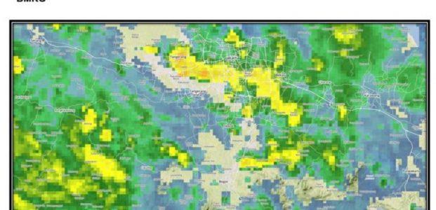 Besok Hujan Lebat Diperkirakan Terjadi Saat Perayaan Imlek