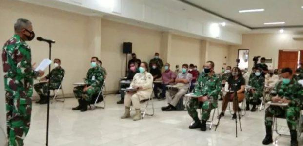 Personel Kesehatan TNI Dan Artha Graha Peduli, Ikuti Pelatihan Vaksinasi COVID-19
