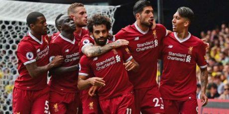 Klasmen Puncak Liga Inggris Masih Milik Liverpool FC