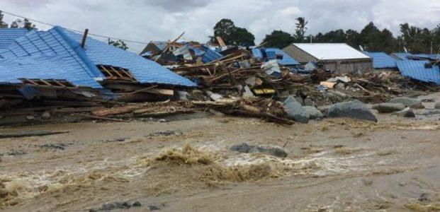 Jayapura Di Terjang Banjir Bandang Dan Tanah Longsor
