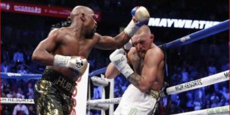 Menang TKO, Mayweather atas Mc Gregor