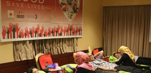 Hotel Borobudur Hasilkan 75 Kantong Darah Darah