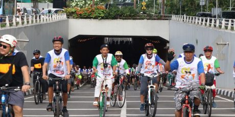Antigolput pada Deklarasi Pesepeda Jakarta
