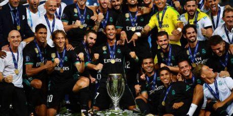 Piala Super Eropa Diboyong Real Madrid
