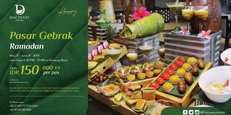 Discovery Ancol Tawarkan Pasar Gebrak Ramadhan