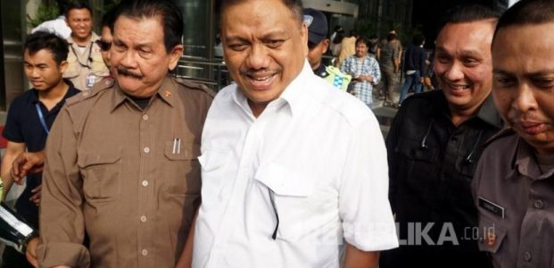 Gubernur Sulawesi Utara Olly Donokambey Diperiksa KPK Di Jakarta
