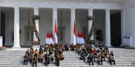 Susunan Kabinet Jokowi-Ma'ruf 2019-2024
