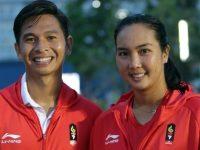 Merah Putih Berkibar Di Jakabaring Indonesia Koleksi Satu Emas Dari Cabang Tenis