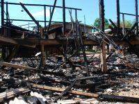 Rumah semipermanen terbakar di wilayah Kemayoran